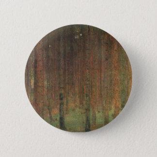 Bóton Redondo 5.08cm Gustavo Klimt - floresta do pinho