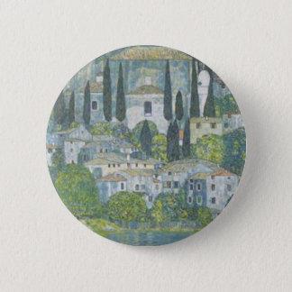 Bóton Redondo 5.08cm Gustavo Klimt - igreja no trabalho de arte de