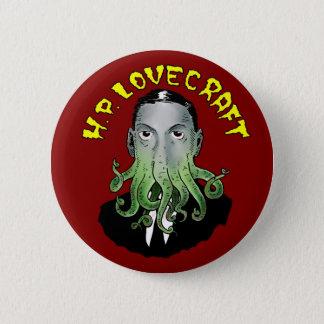 Bóton Redondo 5.08cm H.P. Lovecraft Botão