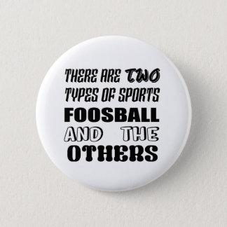 Bóton Redondo 5.08cm Há dois tipos de esportes Foosball e outro