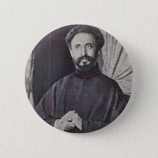 Bóton Redondo 5.08cm Haile Selassie mim