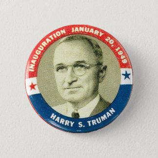 Bóton Redondo 5.08cm Harry Truman - botão