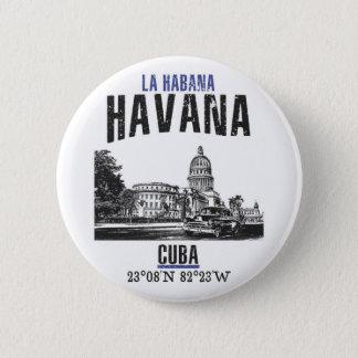 Bóton Redondo 5.08cm Havana