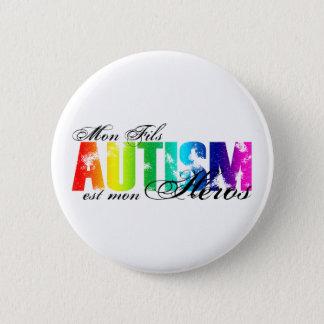 Bóton Redondo 5.08cm Heróis de segunda-feira Fils - autismo