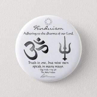 Bóton Redondo 5.08cm Hinduísmo - botão da passagem