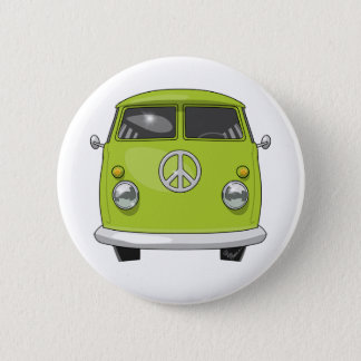 Bóton Redondo 5.08cm Hippie 1960 Van