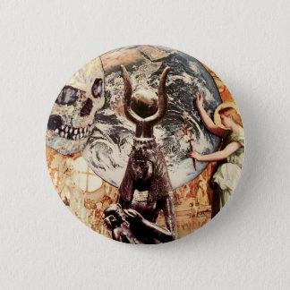 Bóton Redondo 5.08cm história de ideias religiosas