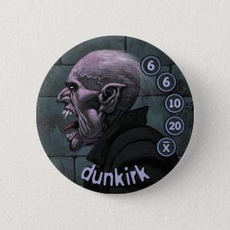Bóton Redondo 5.08cm Homens de botão Vampyres: Dunkirk