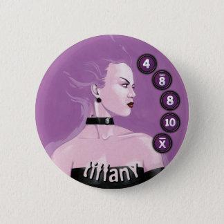 Bóton Redondo 5.08cm Homens de botão Vampyres: Tiffany