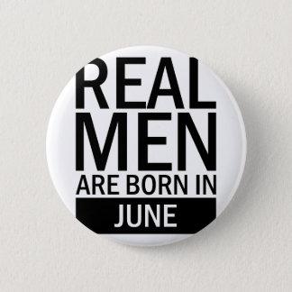 Bóton Redondo 5.08cm Homens reais junho