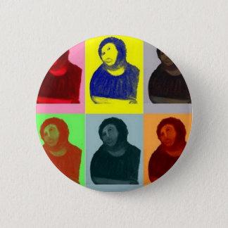 Bóton Redondo 5.08cm Homo de Ecce - estilo do pop art