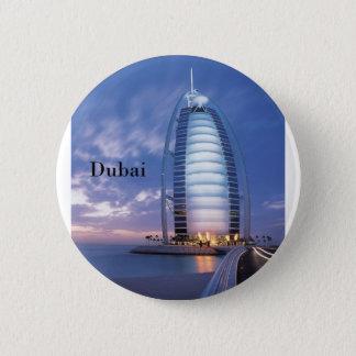 Bóton Redondo 5.08cm Hotel árabe do Al de Dubai Burj (por St.K)