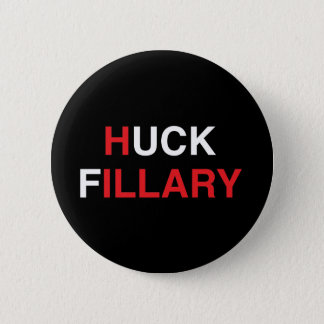 Bóton Redondo 5.08cm HUCK FILLARY Hillary Clinton