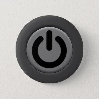 Bóton Redondo 5.08cm Ícone do botão de OnOf