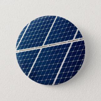 Bóton Redondo 5.08cm Imagem de um painel de energias solares engraçado