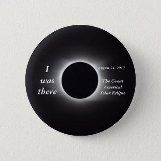 Bóton Redondo 5.08cm Imagem real do eclipse 2017 solar