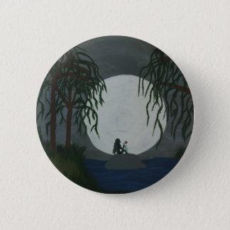 Bóton Redondo 5.08cm Impressão da arte da solidão