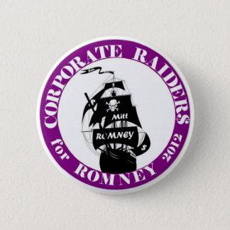 Bóton Redondo 5.08cm Incursores incorporados para Romney 2012