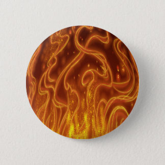 Bóton Redondo 5.08cm Inseto de fogo