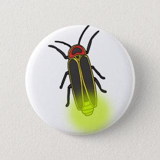 Bóton Redondo 5.08cm inseto de relâmpago leve