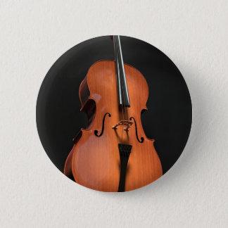 Bóton Redondo 5.08cm Instrumento amarrado cordas da madeira do