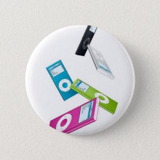 Bóton Redondo 5.08cm iPod