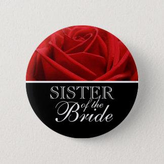 Bóton Redondo 5.08cm Irmã dos botões de casamento da noiva