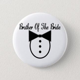 Bóton Redondo 5.08cm Irmão da noiva