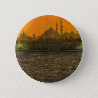 Bóton Redondo 5.08cm Istambul Türkiye/Turquia