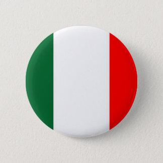 Bóton Redondo 5.08cm Italia-bandeira