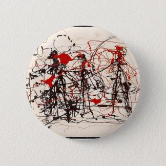 Bóton Redondo 5.08cm Jackson Pollock intitulado