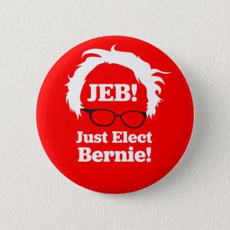 Bóton Redondo 5.08cm JEB: Apenas eleja Bernie (as máquinas de lixar)