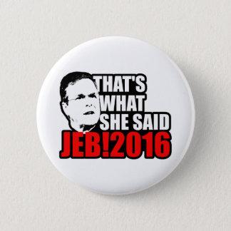 Bóton Redondo 5.08cm Jeb Bush 2016