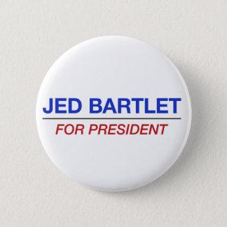 Bóton Redondo 5.08cm JED BARTLET para o botão do presidente