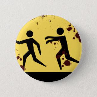 Bóton Redondo 5.08cm Jejua Bloody o botão movente dos zombis