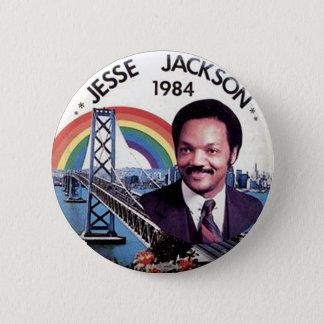 Bóton Redondo 5.08cm Jesse Jackson - botão