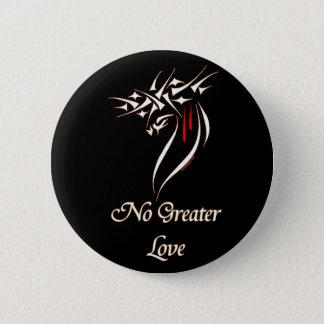 Bóton Redondo 5.08cm Jesus nenhum maior amor