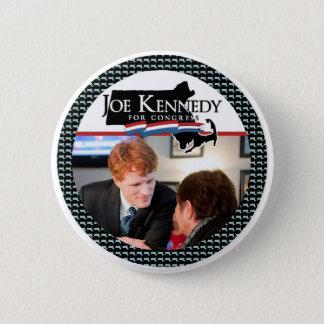 Bóton Redondo 5.08cm Joe Kennedy para o congresso
