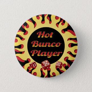 Bóton Redondo 5.08cm jogador quente do bunco