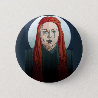 Bóton Redondo 5.08cm Jogo austero de Sansa do crachá dos tronos