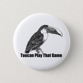 Bóton Redondo 5.08cm Jogo de Toucan que jogo