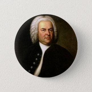 Bóton Redondo 5.08cm Johann Sebastian Bach