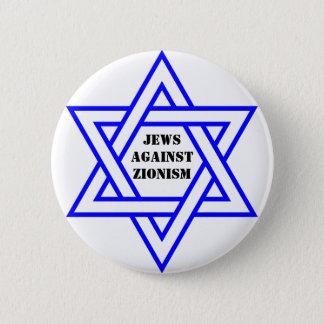 Bóton Redondo 5.08cm Judeus contra o sionismo