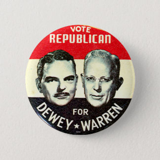 Bóton Redondo 5.08cm Jugate de Dewey-Warren - botão