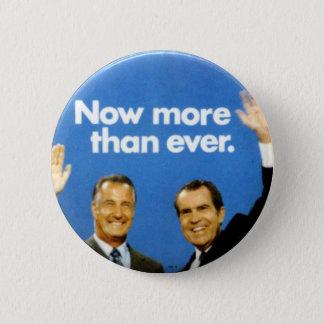 Bóton Redondo 5.08cm Jugate de Nixon-Agnew - botão