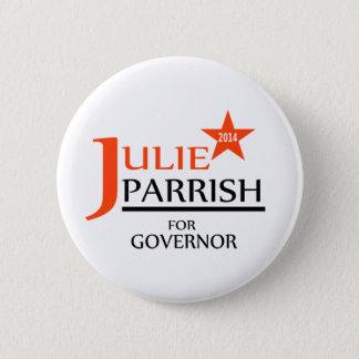Bóton Redondo 5.08cm Julie Parrish para o pino do governador