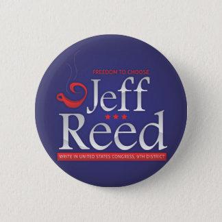 Bóton Redondo 5.08cm Junco de Jeff para o congresso