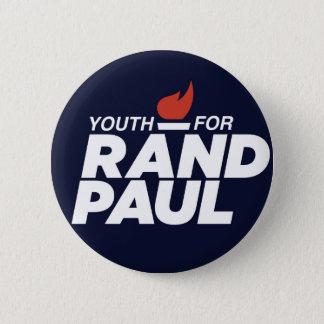 Bóton Redondo 5.08cm Juventude para o botão da campanha de Paul da