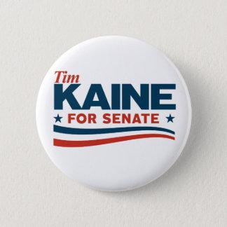Bóton Redondo 5.08cm KAINE - Tim Kaine para o Senado