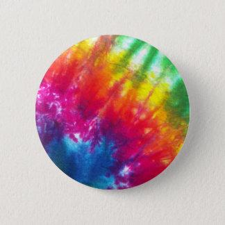 Bóton Redondo 5.08cm Laço-Tintura do arco-íris